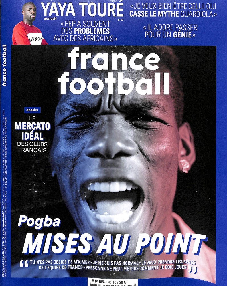 France Football N° 3829 Octobre 2019