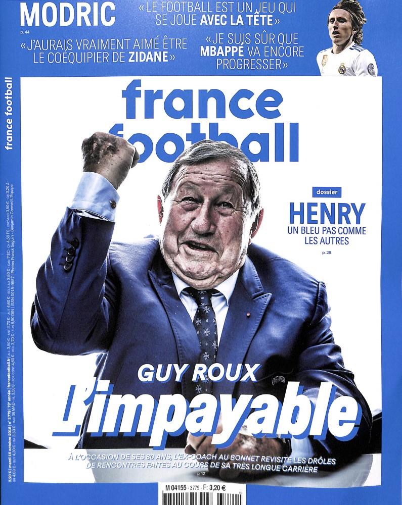 France Football N° 3779 October 2018