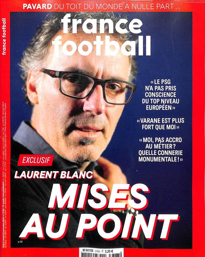 France Football N° 3783 November 2018