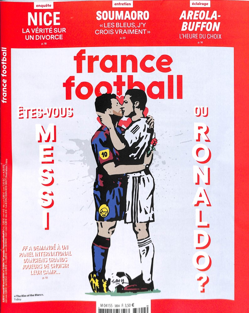France Football N° 3829 Octobre 2019