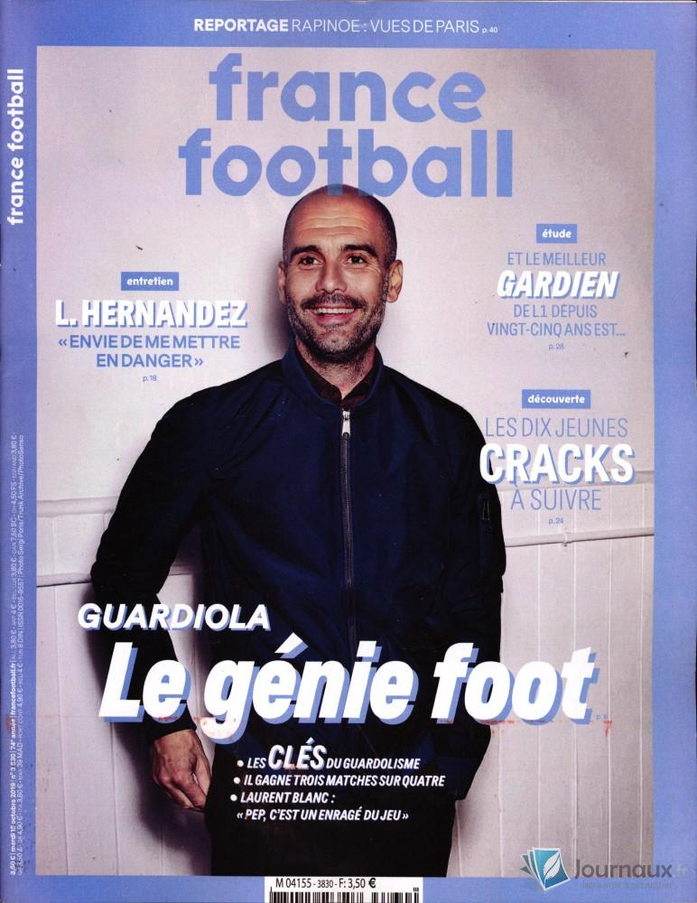 France Football N° 3830 Octobre 2019