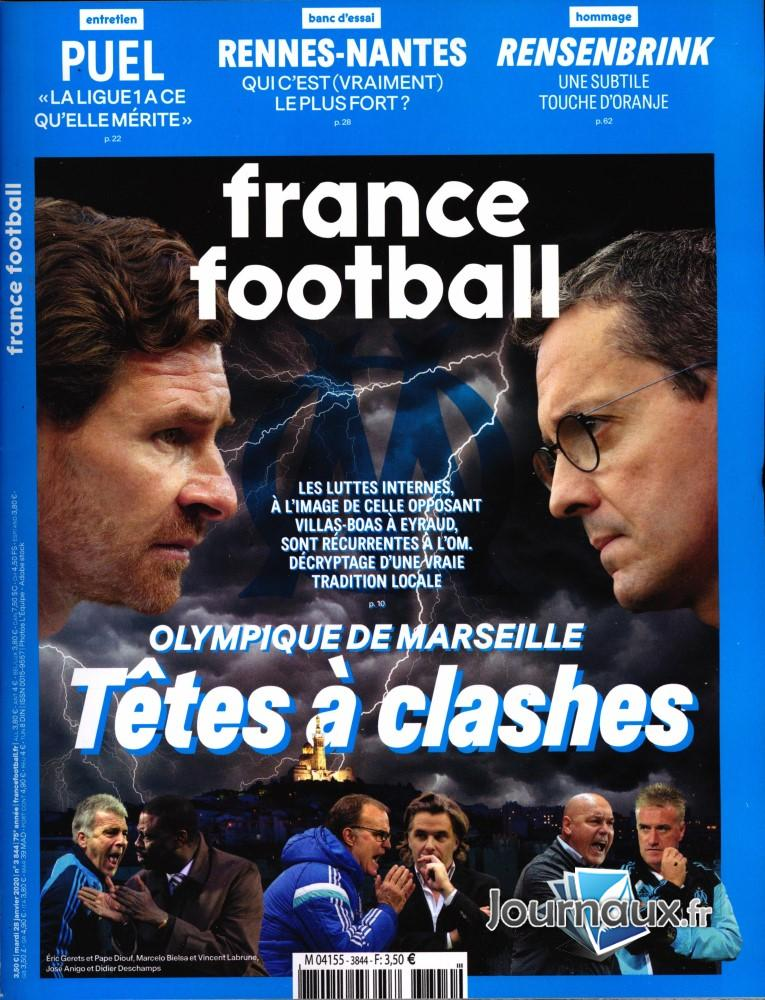 France Football N° 3844 Janvier 2020