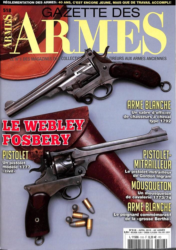 Gazette des Armes N° 518 Avril 2019