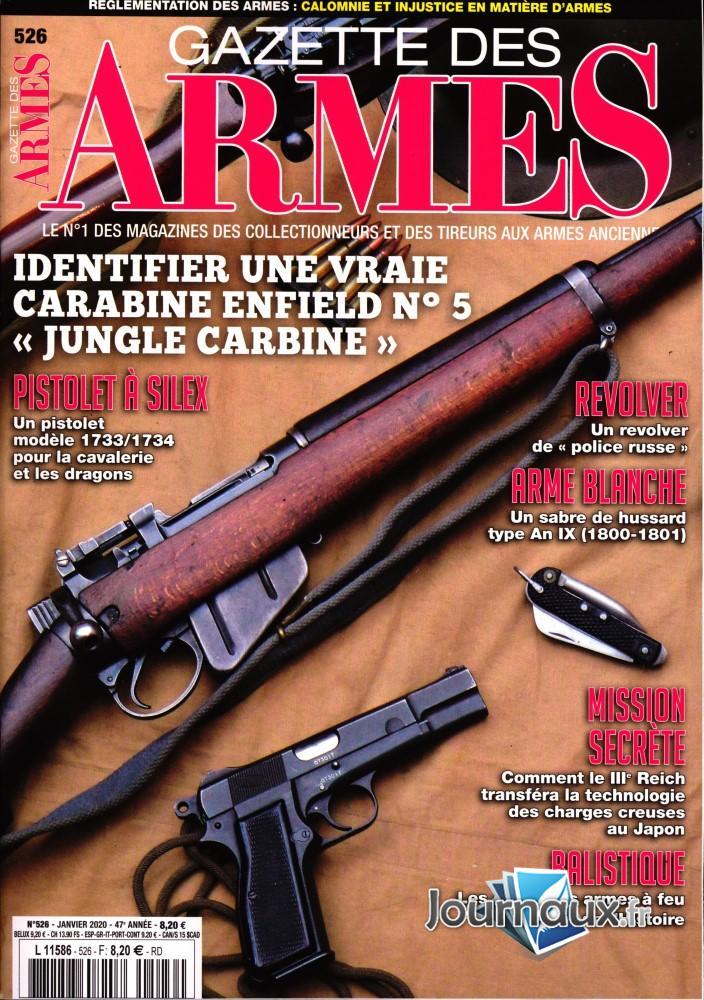Gazette des Armes N° 526 Janvier 2020
