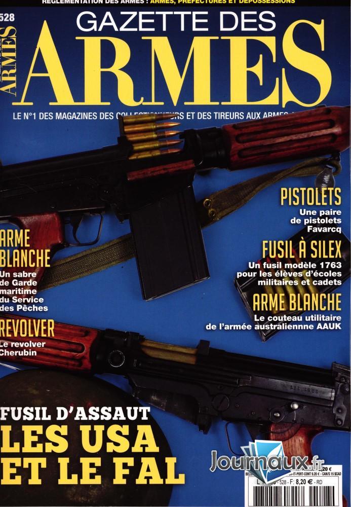 Gazette des Armes N° 528 Mars 2020