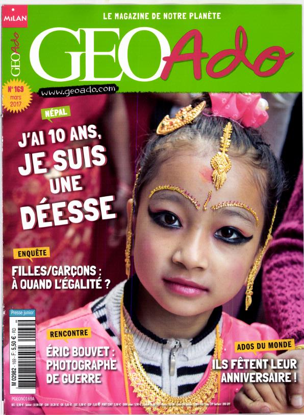 Géo Ado N° 169 Février 2017