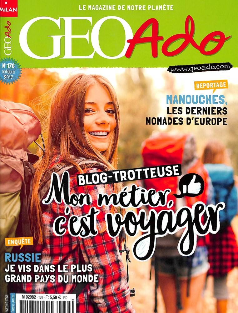 Géo Ado N° 176 Septembre 2017