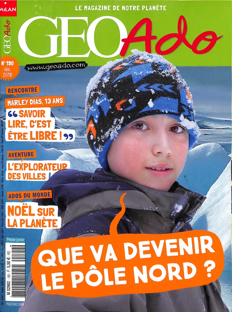 Géo Ado N° 201 Octobre 2019