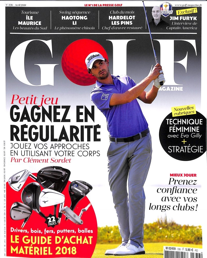 Golf Magazine N° 337 April 2018