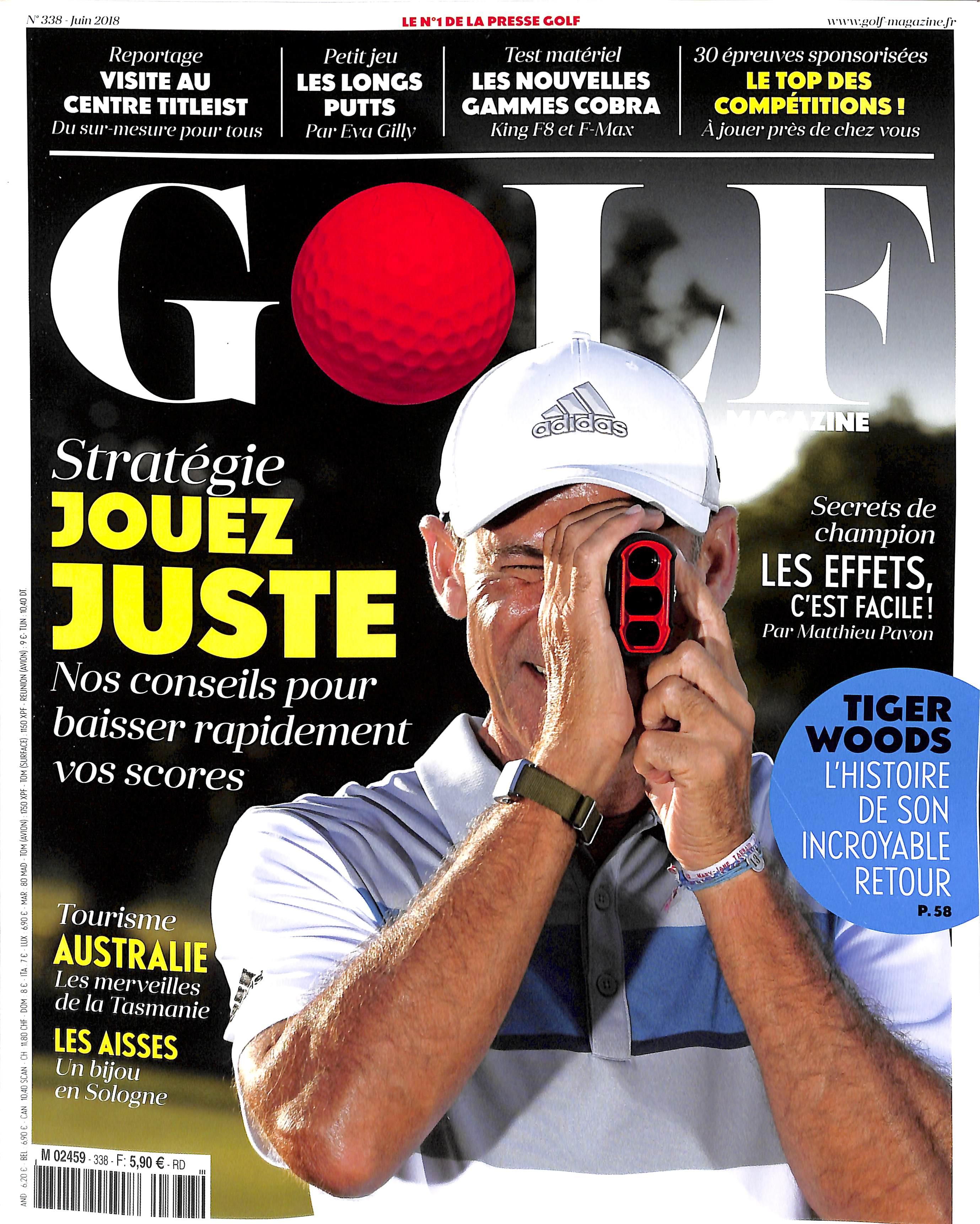Golf Magazine N° 341 August 2018
