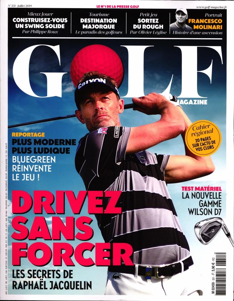 Golf Magazine N° 351 Juin 2019