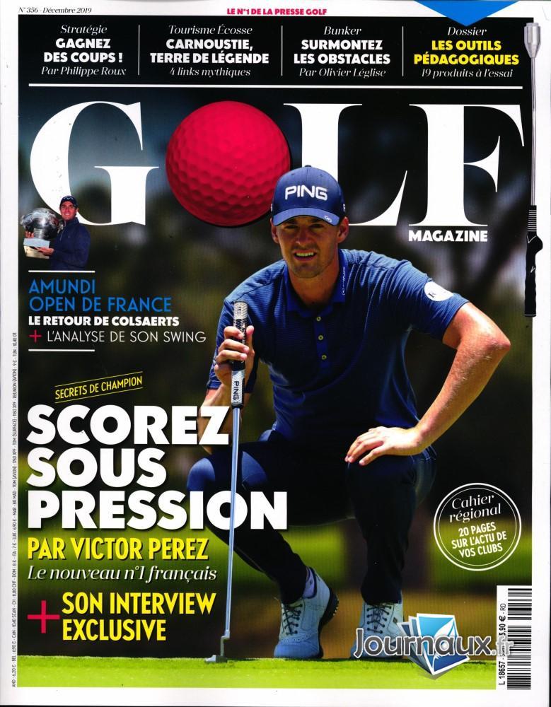 Golf Magazine N° 356 Novembre 2019