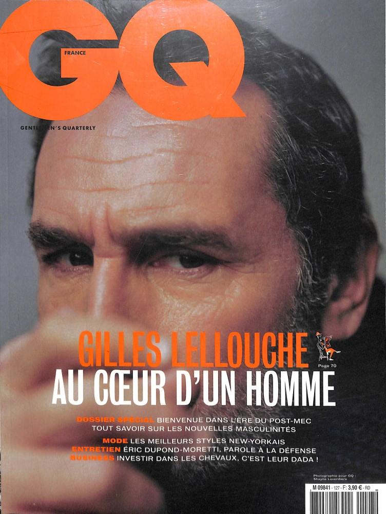 GQ Gentlemen's quarterly N° 127 Janvier 2019