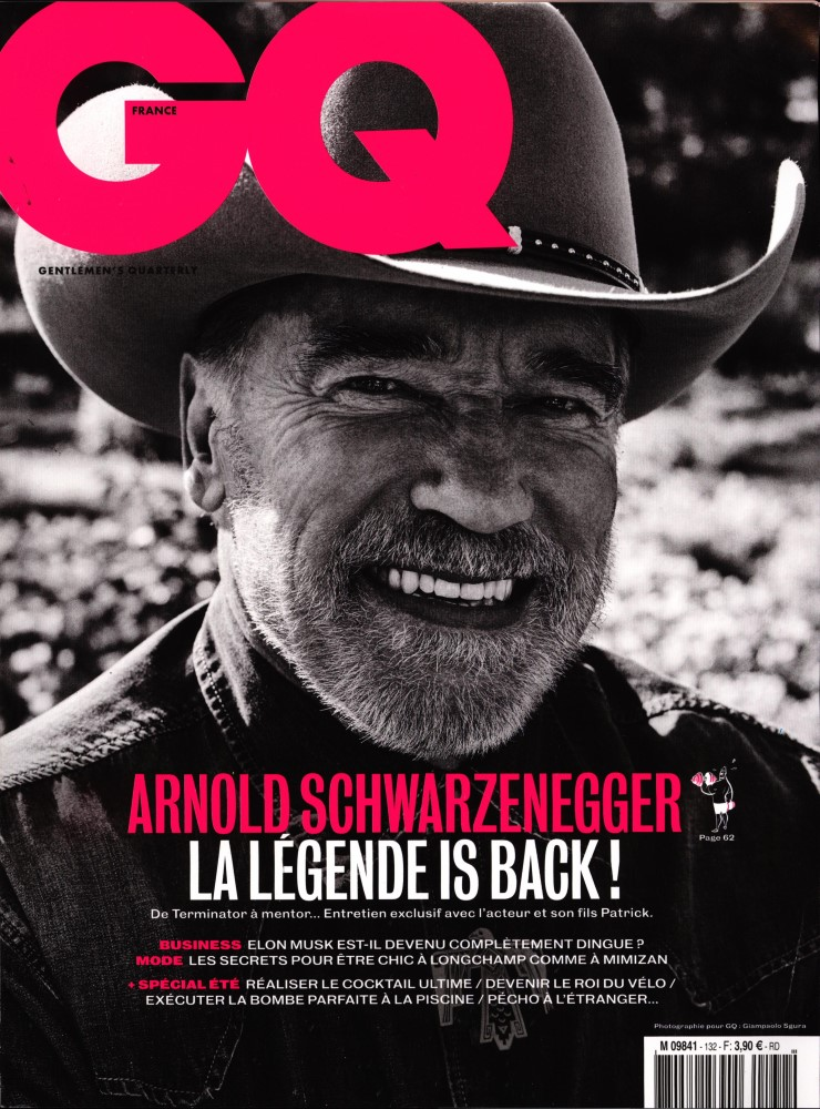 GQ Gentlemen's quarterly N° 132 Juillet 2019