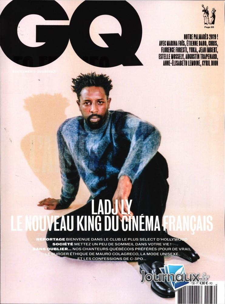 GQ Gentlemen's quarterly N° 136 Novembre 2019