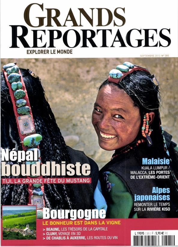 Grands Reportages N° 469 Novembre 2019