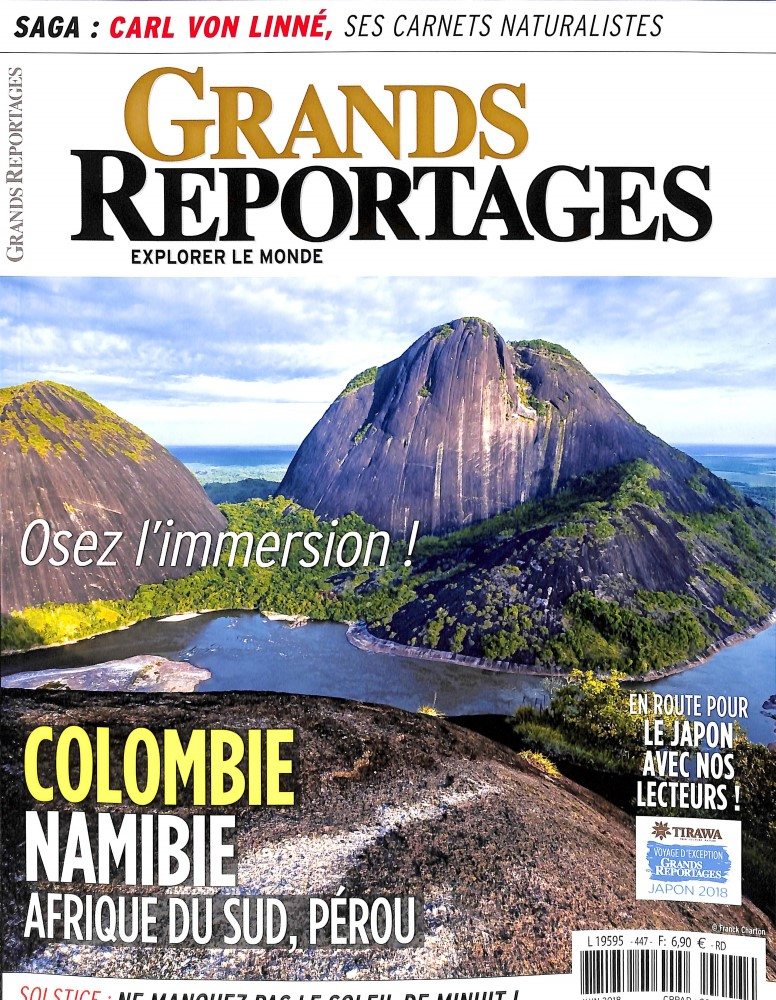 Grands Reportages N° 447 May 2018