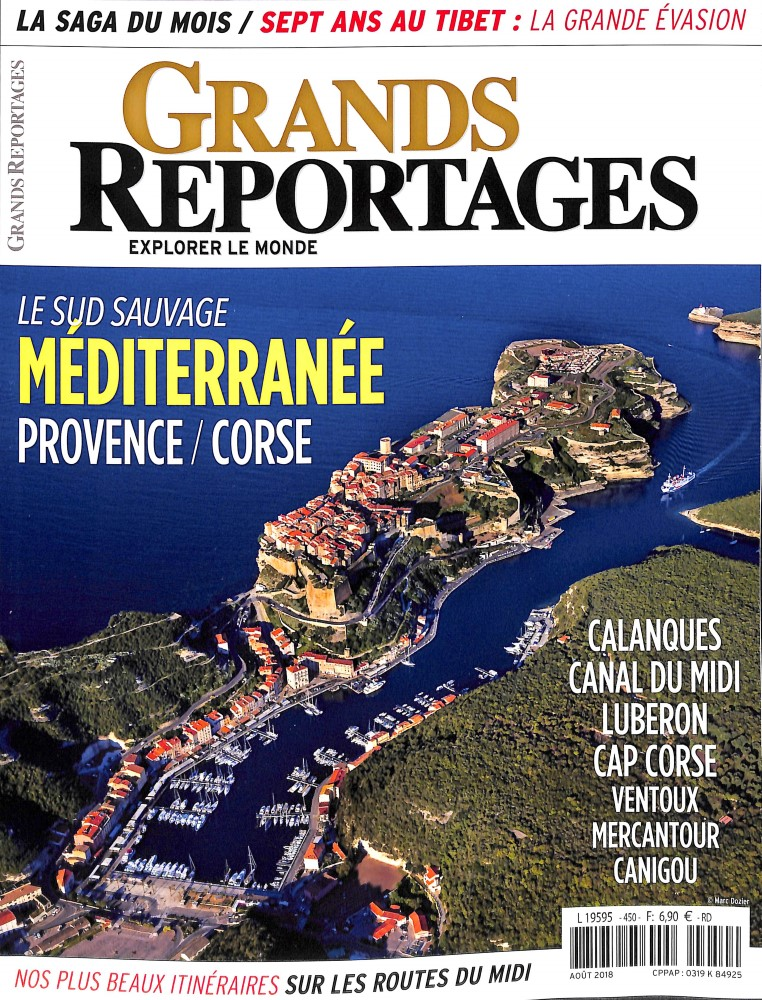 Grands Reportages N° 450 July 2018