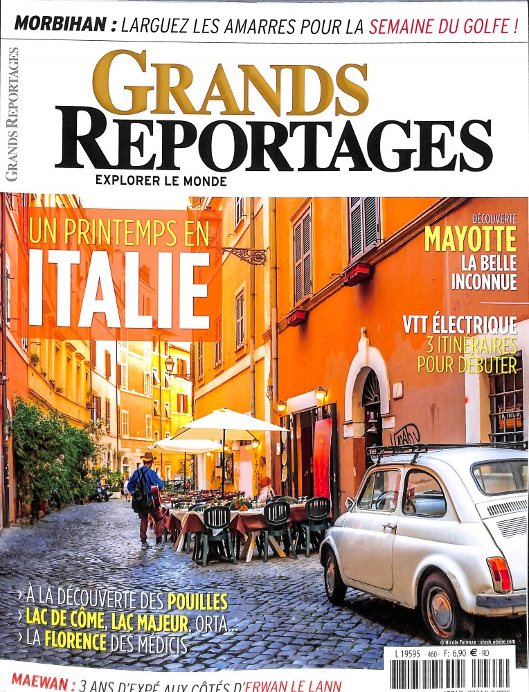 Grands Reportages N° 460 Avril 2019