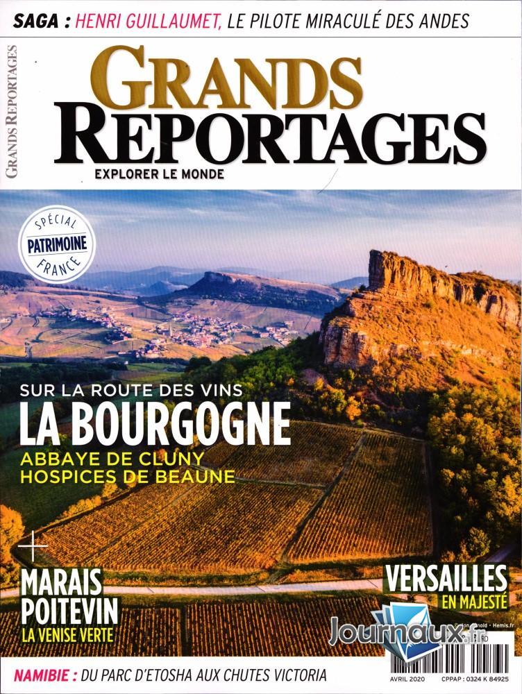 Grands Reportages N° 473 Mars 2020
