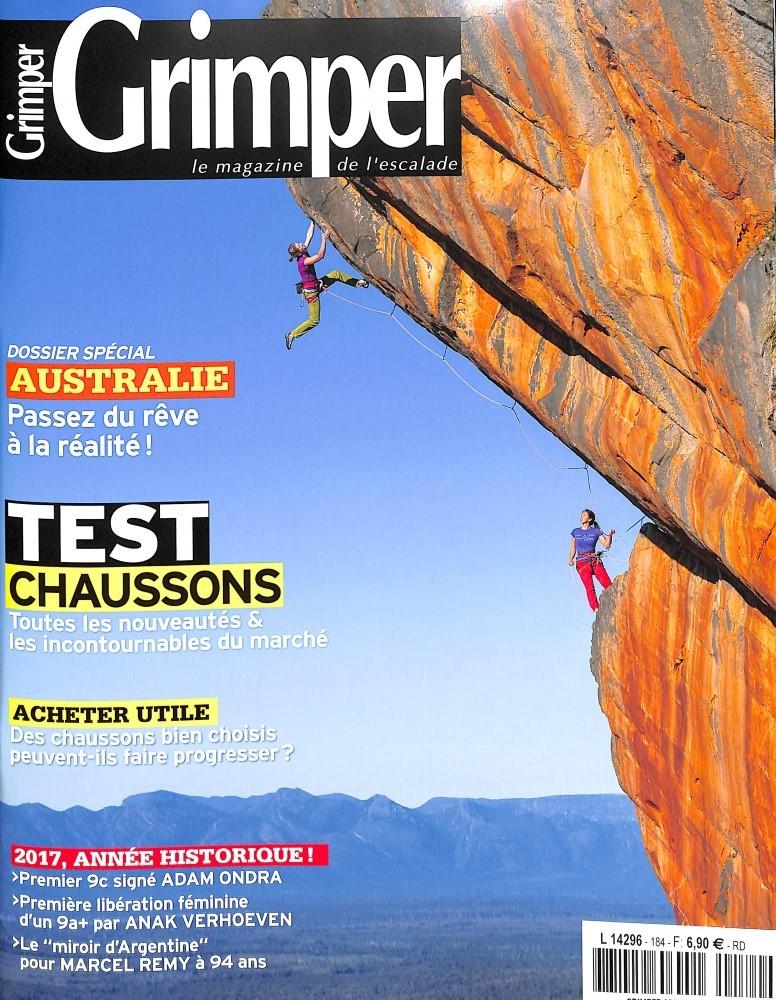 Grimper Magazine N° 184 Octobre 2017