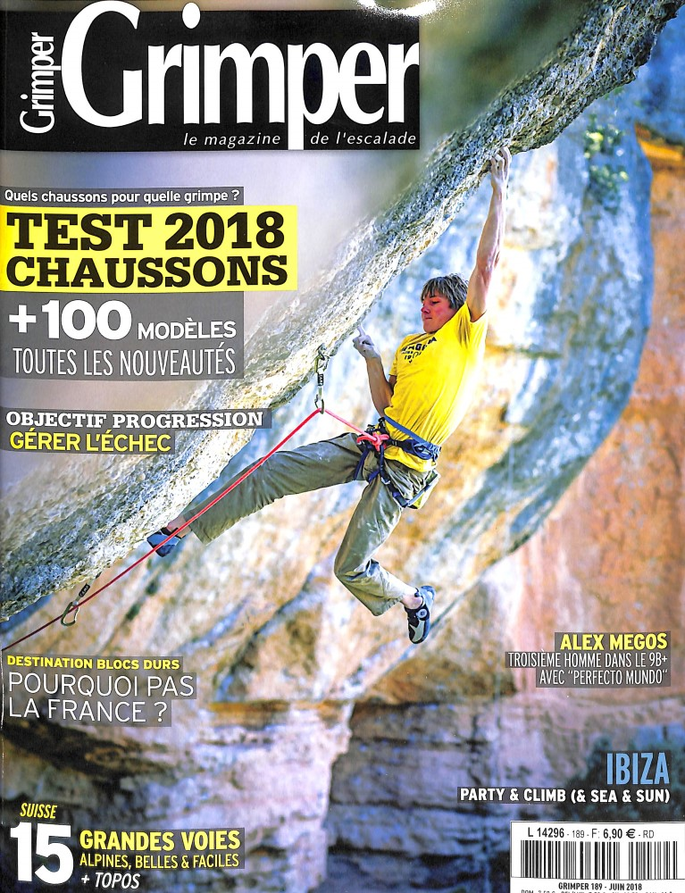 Grimper Magazine N° 189 June 2018