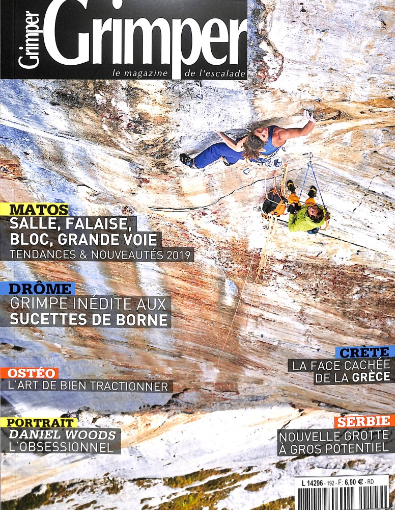 Grimper Magazine N° 192 October 2018