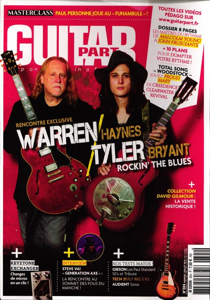 Abonnement Guitar Part | Abonnement magazine par Toutabo.com