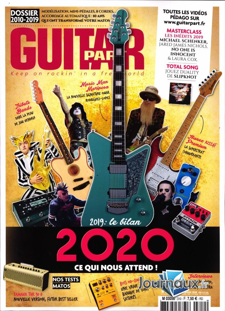 Guitar Part N° 310 Janvier 2020