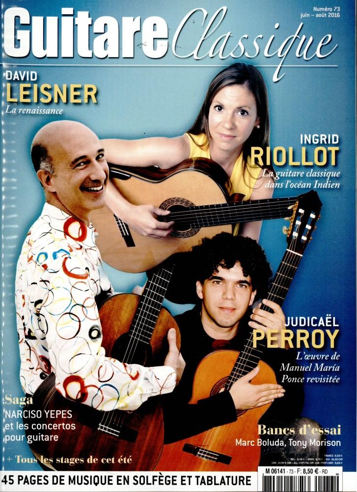Guitare Classique N° 73 Mai 2016