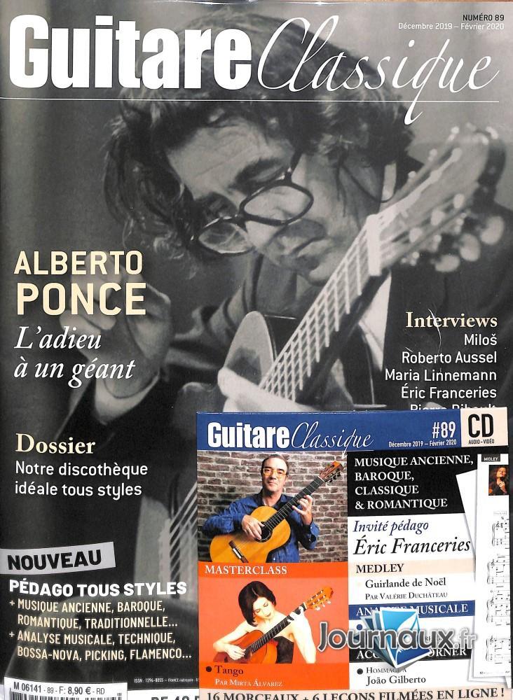 Guitare Classique N° 90 Décembre 2019