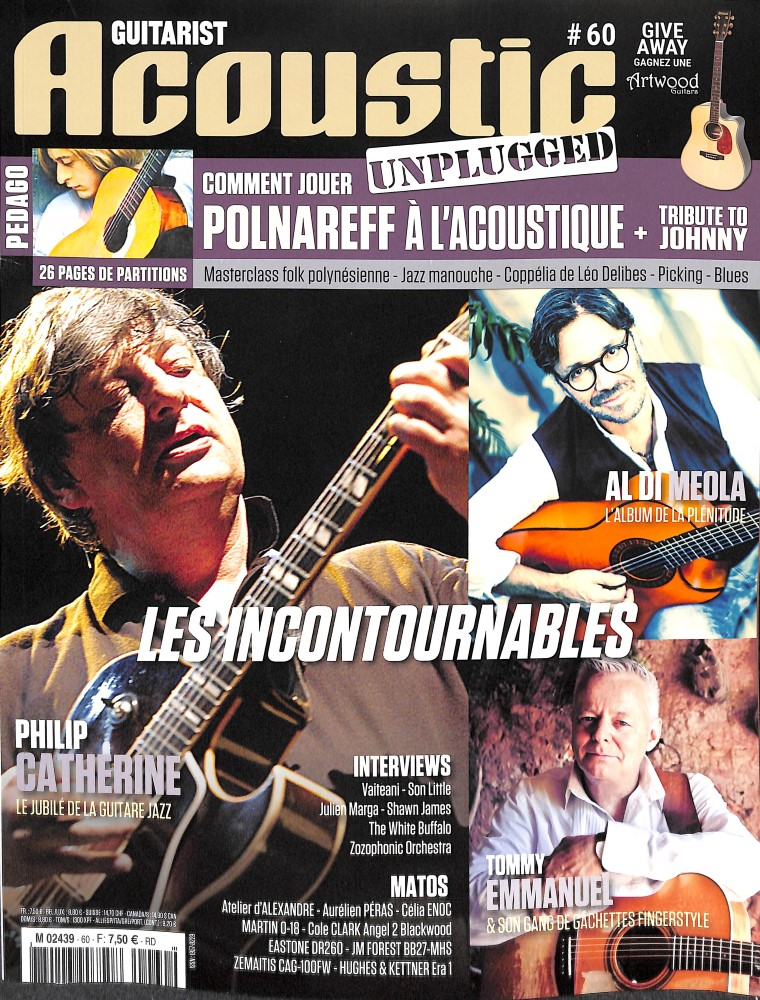 Guitarist Acoustic N° 60 January 2018