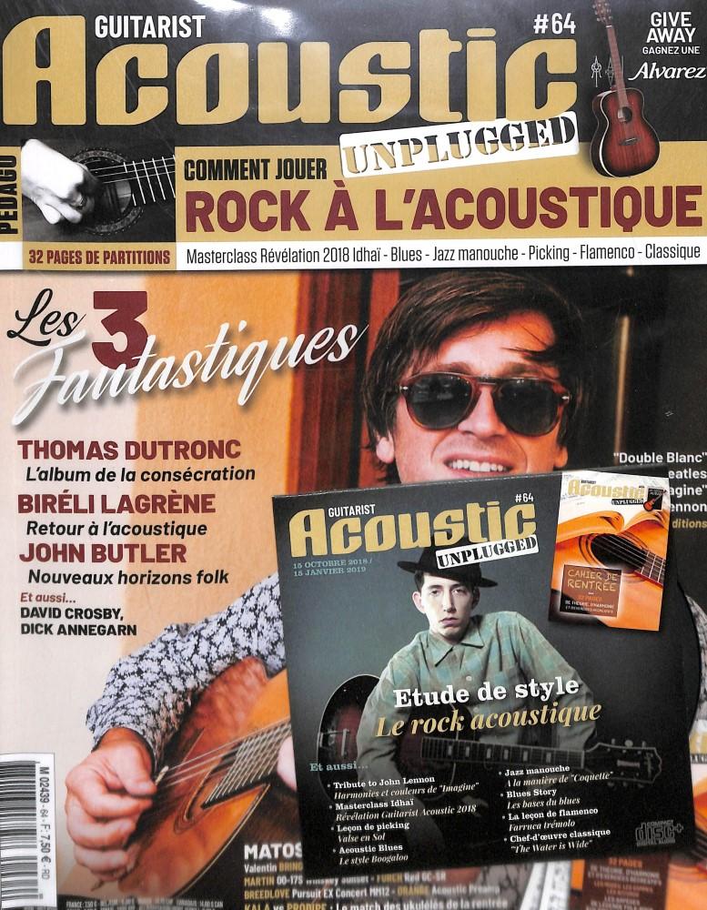 Guitarist Acoustic N° 64 October 2018