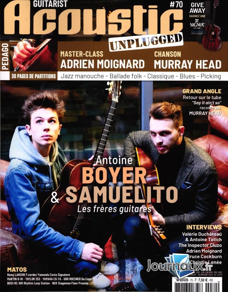 Guitarist Acoustic N° 70 Janvier 2020