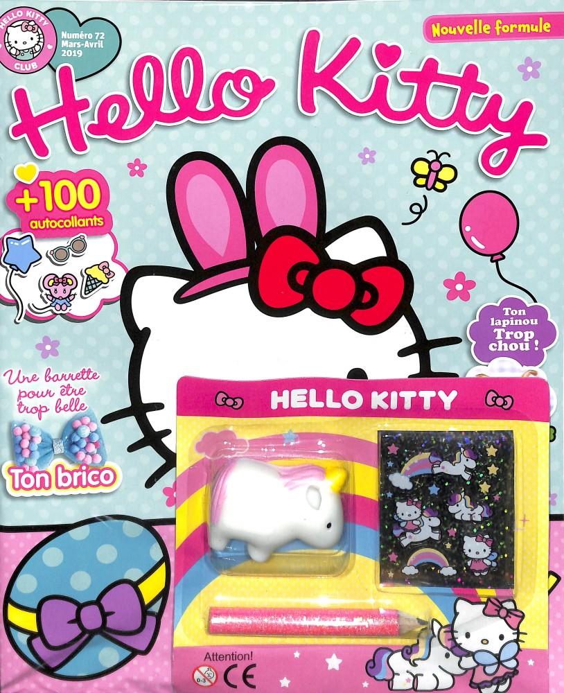 Hello Kitty club N° 72 Février 2019