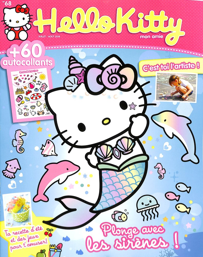 Hello Kitty mon amie N° 68 June 2018