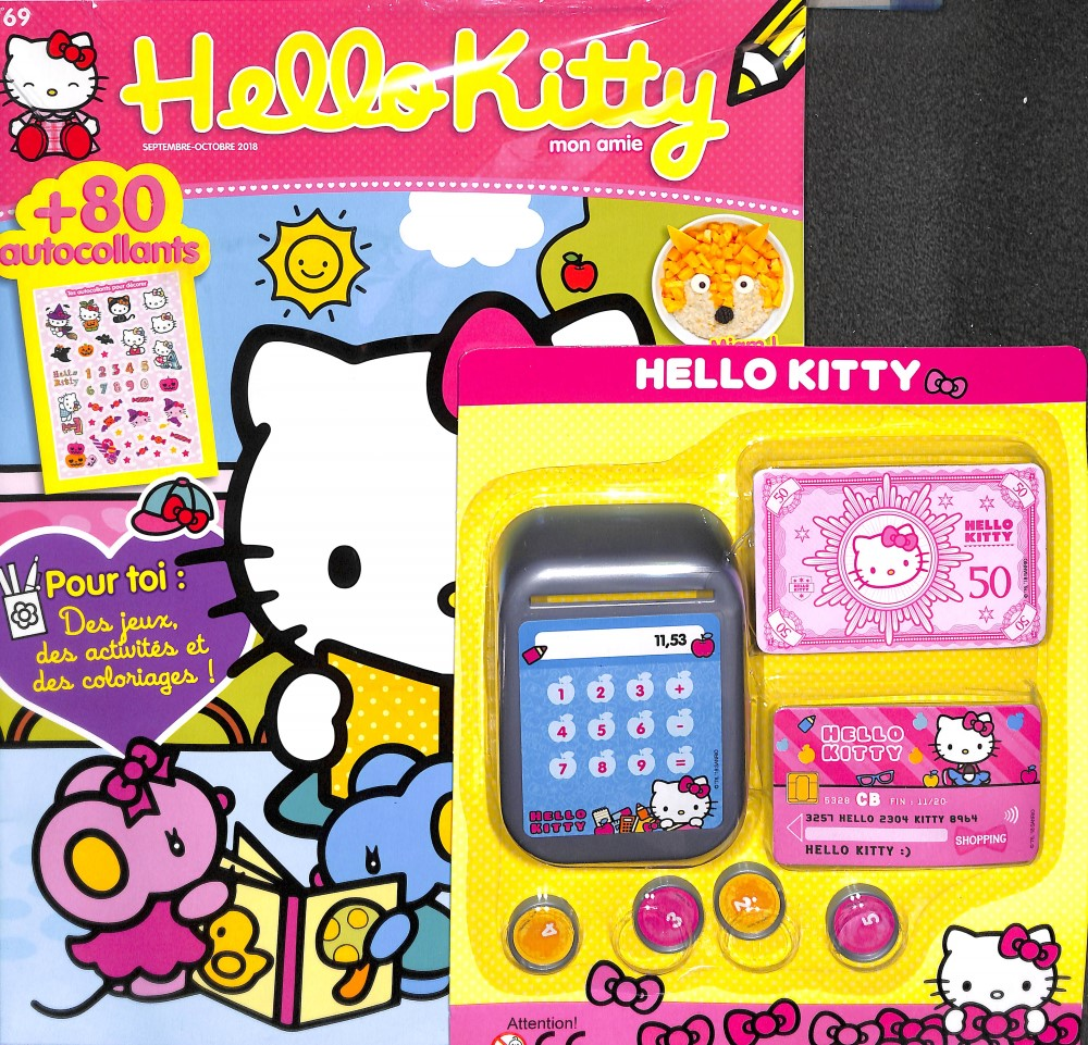 Hello Kitty mon amie N° 69 August 2018