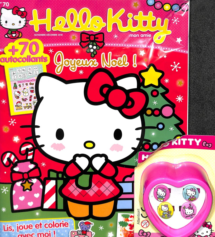 Hello Kitty mon amie N° 70 October 2018