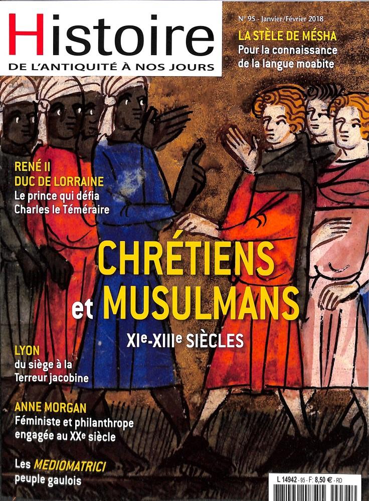 Histoire antique et médiévale N° 95 Janvier 2018