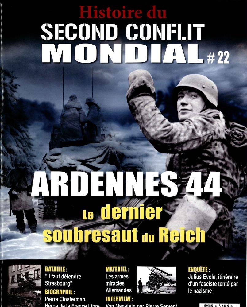 Histoire du second conflit mondial N° 45 Juin 2019