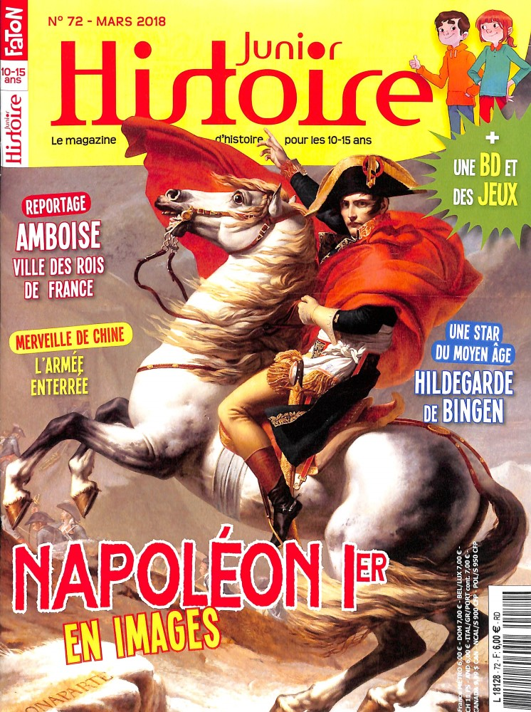 Histoire Junior N° 72 March 2018