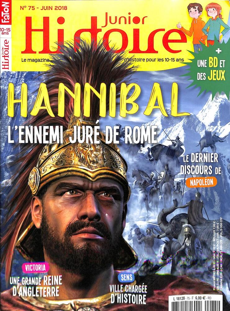 Histoire Junior N° 75 June 2018