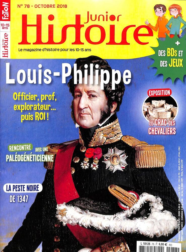 Histoire Junior N° 78 October 2018