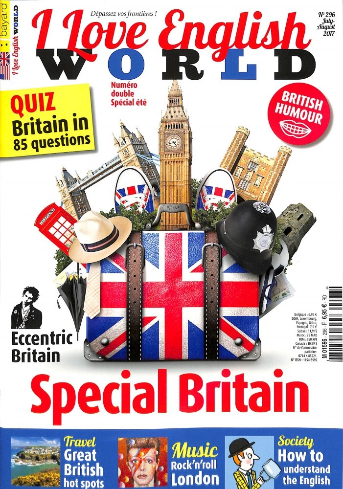I love English world N° 296 Juin 2017