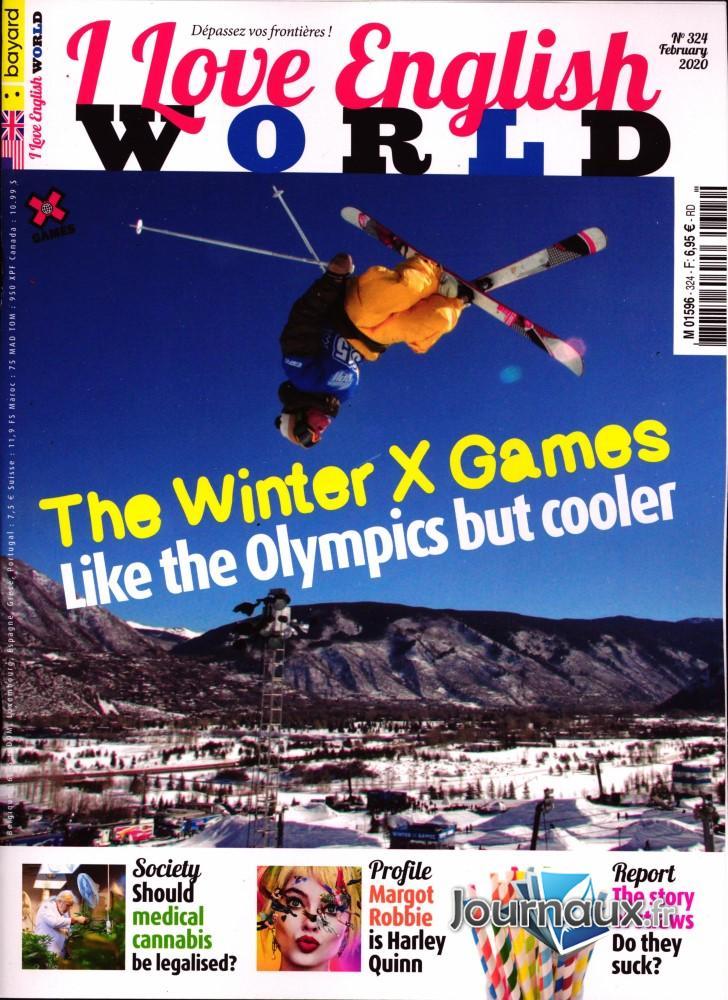 I love English world N° 324 Janvier 2020