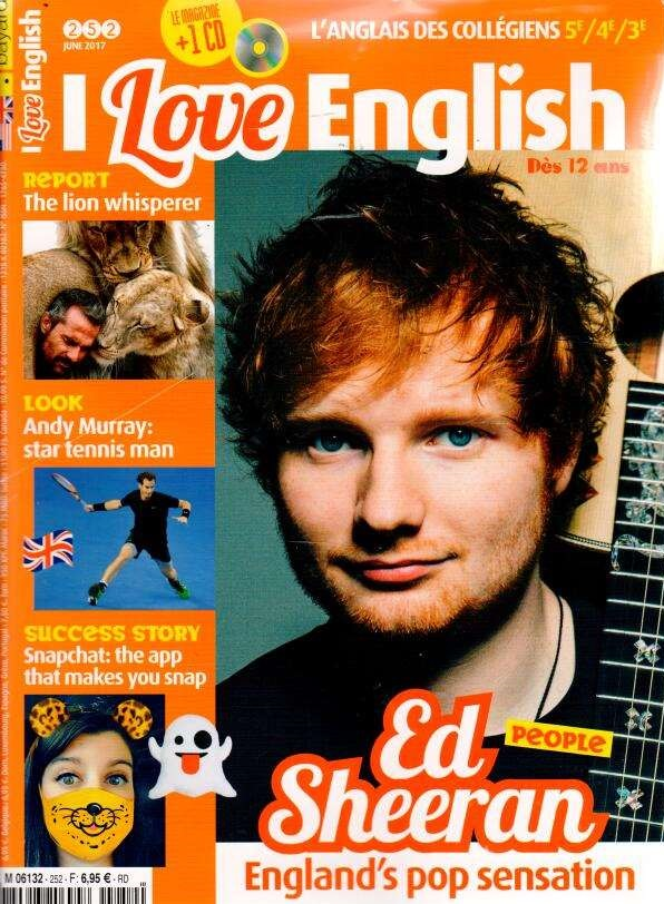 I love English ! N° 252 Mai 2017