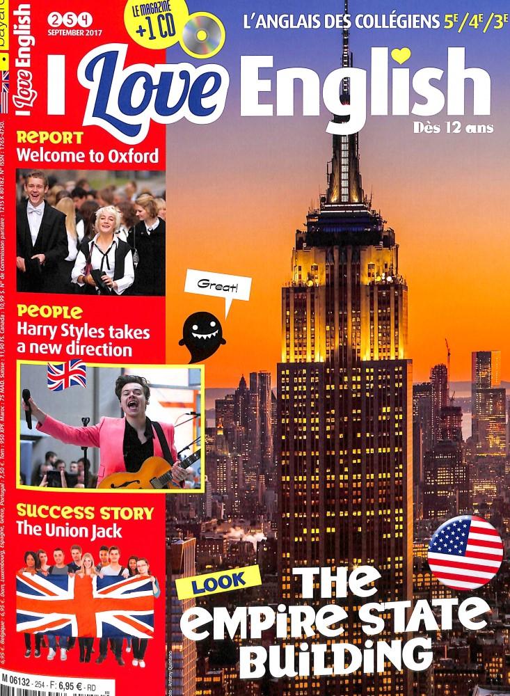 I love English ! N° 254 Août 2017