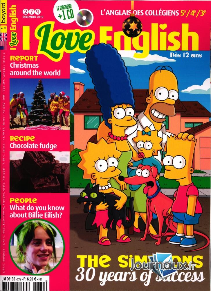 I love English ! N° 279 Novembre 2019