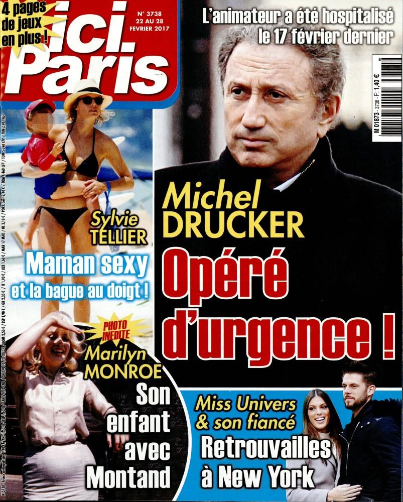 Ici Paris N° 3738 Février 2017
