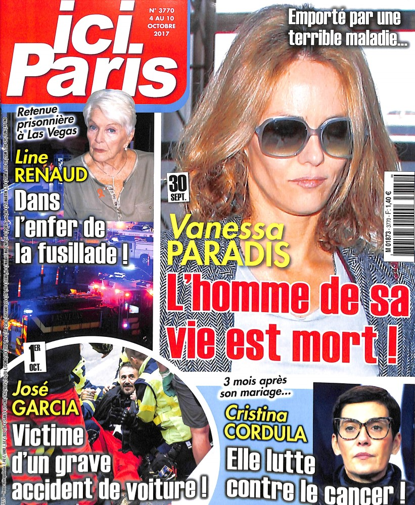 Ici Paris N° 3872 Septembre 2019